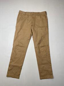 Lacoste-Chino-Hose-w33-l30-beige-super-Zustand-Herren