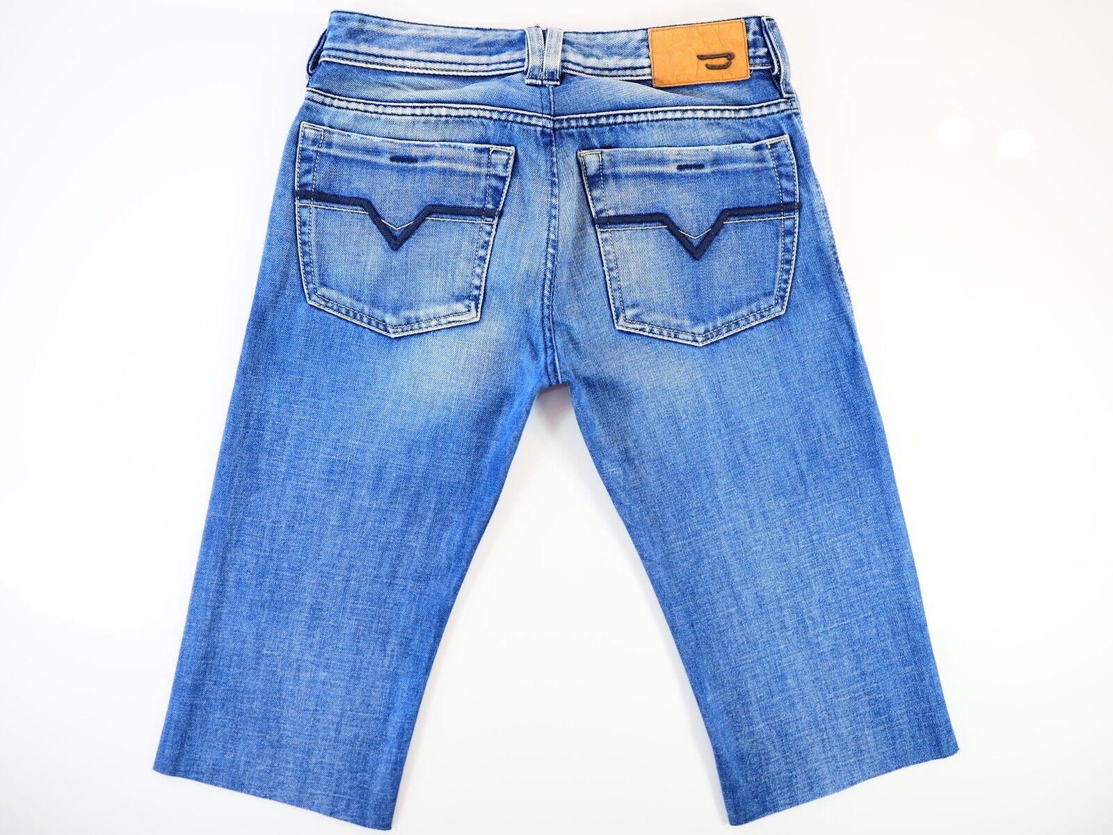 b0ce542d4a6ed Diesel pantalones ZATHAN Vaqueros   Diesel pantalones Diesel cortos de  mezclilla W27 Excelente Estado 008AT 27W ...