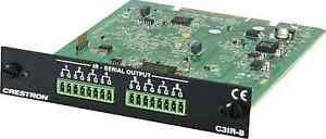 Crestron-C3IR-8-8-port-IR-card-for-AV3-PRO3-CEN-CI3-1-CEN-CI3-3