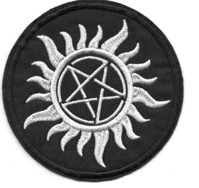 Supernatural ecusson anti possession Tatouage Dean et Sam Supernatural patch