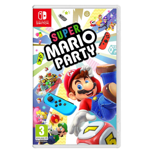 Super Mario Party Sealed Video Game for Nintendo Switch - Import Region Free