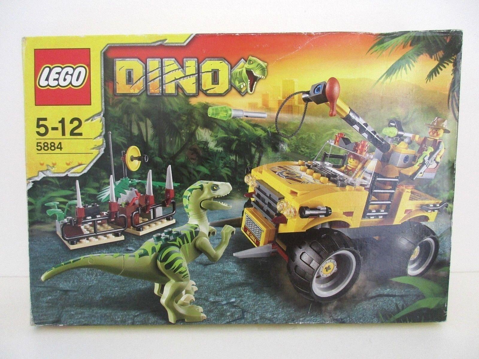 LEGO DINO 5884 Raptor Chase - Completo in scatola con Istruzioni