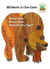 Brown Bear and Friends: Brown Bear, Brown Bear, What Do You See? by Bill, Jr. Martin (1996, Board Book, Revised)