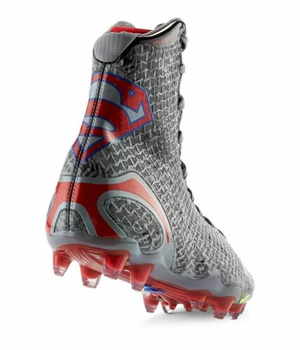 1256694-046 Superman New Men/'s Under Armour Highlight MC Alter Ego Cleat