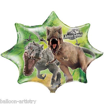 "28"" Jurassic World Park Children's Birthday Party Jumbo Foil Supershape Balloon"