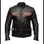 Bill-Goldberg-WWE-Wrestler-Harley-Davidson-Black-Biker-Real-Leather-Jacket thumbnail 1