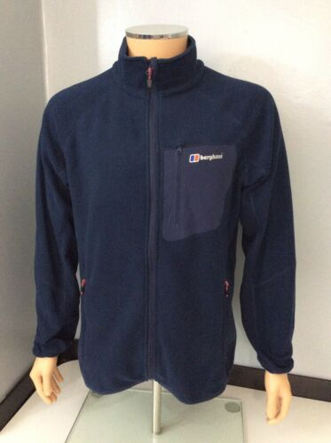 Large Mens Size Jacket Fleece Immaculate Berghaus Blue Coat L q4wFaHH