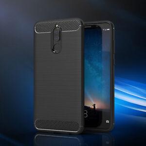 timeless design c9e0e a402e For Huawei Mate 10 Lite Cover 360° Shockproof Carbon Fiber Armor ...