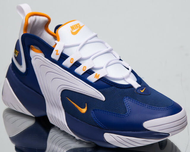 Nike Zoom 2K Men's New Deep Royal Blue Casual Lifestyle Sneakers AO0269 400