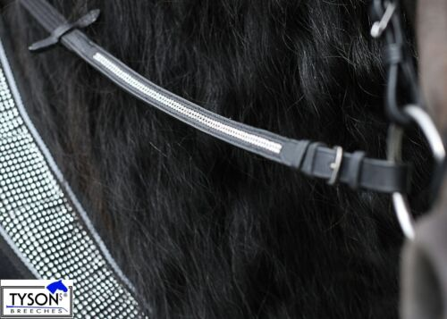 Zügel Gurtzügel Glitzer art Strass 2,60 2,80 Tysons Glitzerzügel 1,30 1,40 cm Zügel Reit- & Fahrsport