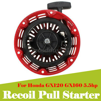 New Start Recoil Assembly Pull Starter Fit Honda Gx160 5.5hp Gx200 6.5hp Engine