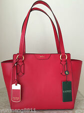 52b71bd754 item 4 NWT RALPH LAUREN Winford red LEATHER modern shopper tote BAG PURSE  satchel  248 -NWT RALPH LAUREN Winford red LEATHER modern shopper tote BAG  PURSE ...