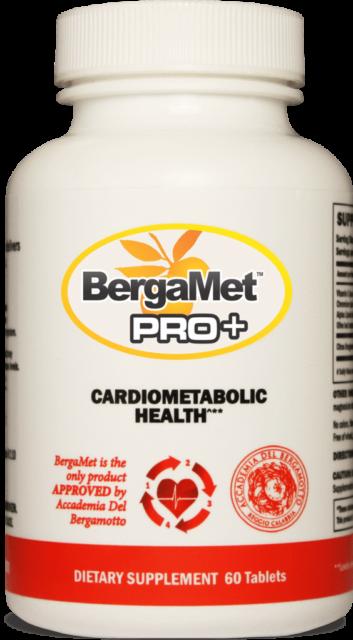STRONGER Bergamet PRO+ Bergamot for Cardiovascular, Liver & Brain 60 Tabs