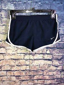 Nike Dri Fit Navy/White Lined Running Shorts Size S🔥Free Shipping🔥RareOnly1