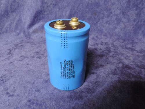 85 C MAX CORNELL DUBILIER 21509-531-01 CAPACITOR 4,300UF 400VDC 450 SURGE