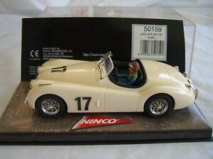 Ninco 50159 Jaguar Xk 120 Ivoire