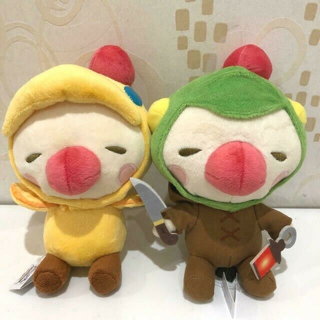 FINAL FANTASY Moogle Plush Stuffed toy Doll Chocobo Tonberry set From JAPAN