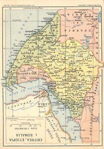 Calendario 1936.Dettagli Su C2940 Eritrea Etiopia Somalia Calendario 1936 Azienda Generale Italiana Petroli