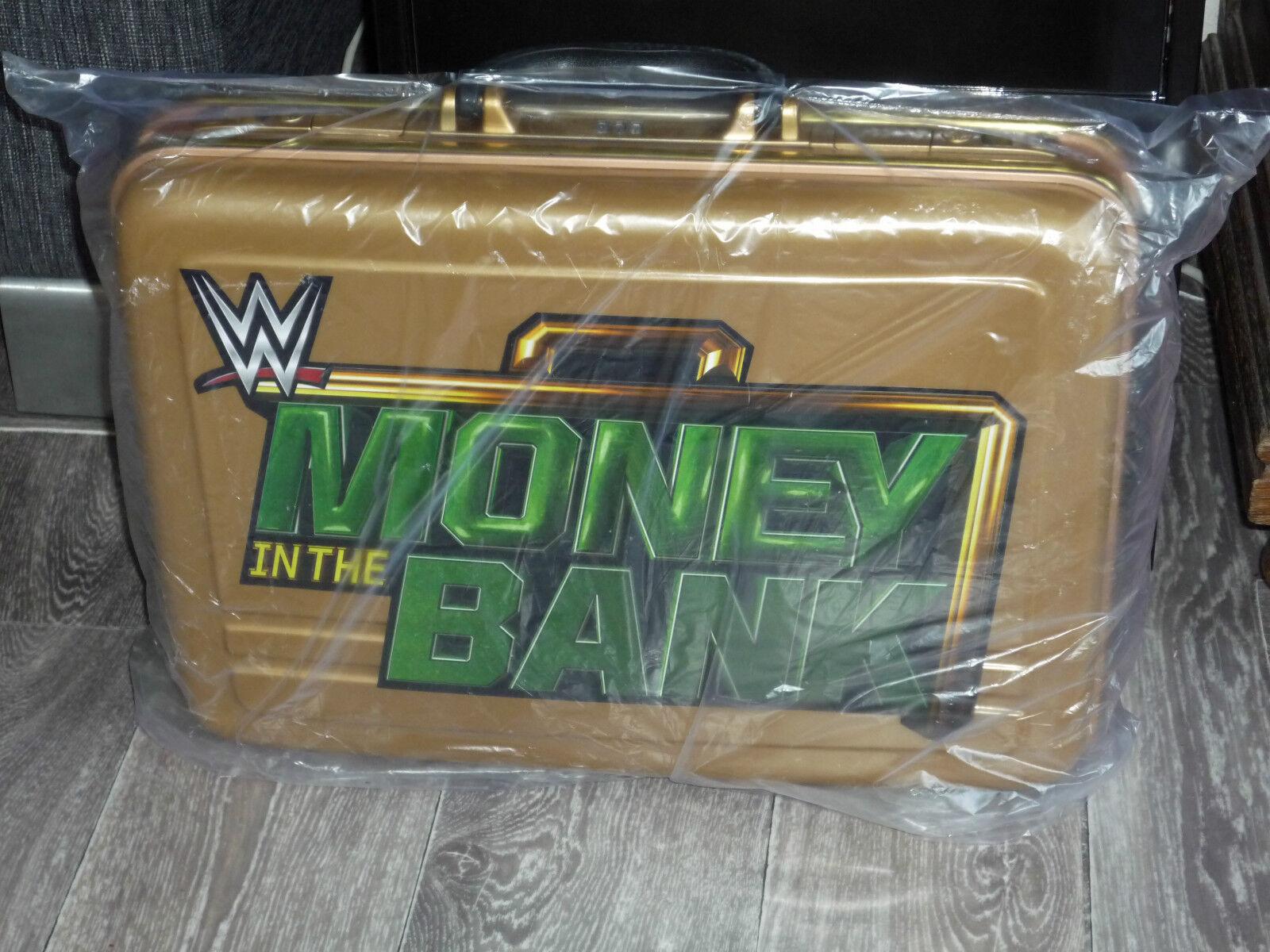 WWE Money In The Wrestlemania Bank Briefcase Wrestlemania The Axxess 31 MITB Wrestle Seth Rollins 98d6b5