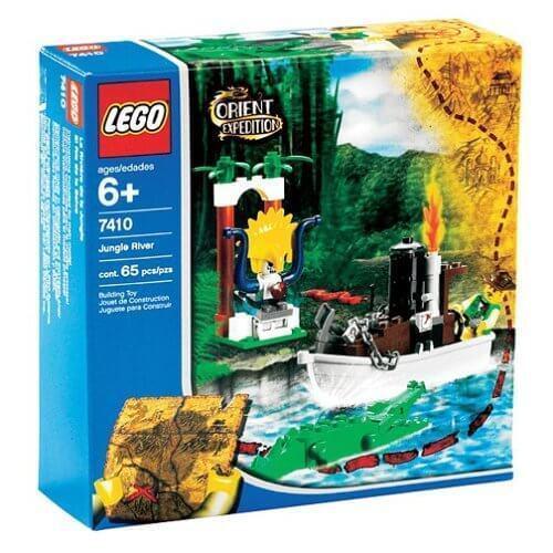 LEGO ORIENT EXPEDITION 7410 Fiume nella Giungla