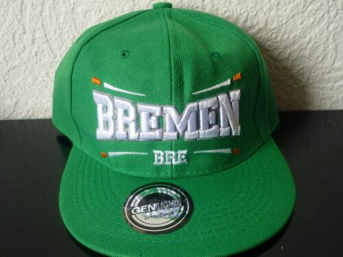 Snapback,Staedtecap,Baseballcap Bremen Cap,Fussball,Bundesliga,Fancap,Kappe