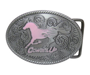 Boucle-de-ceinture-cheval-rose-cowgirl-up-jockey-equitation