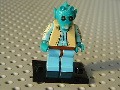 LEGO Star Wars Greedo Rare Minifig from Mos EIsley Cantina in EUC Lot
