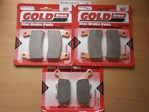 /> FULL SET SINTERED HH BRAKE PADS *GOLDFREN* HONDA CBR900 RR FIREBLADE 893cc