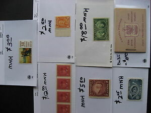 CANADA-small-but-mighty-group-of-better-MNH-stuff-in-sales-cards-part-4-of-5