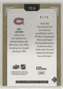SSP-01-25-Time-Capsules-Gold-Parallel-GUY-LAFLEUR-UNOPENED-Chronology
