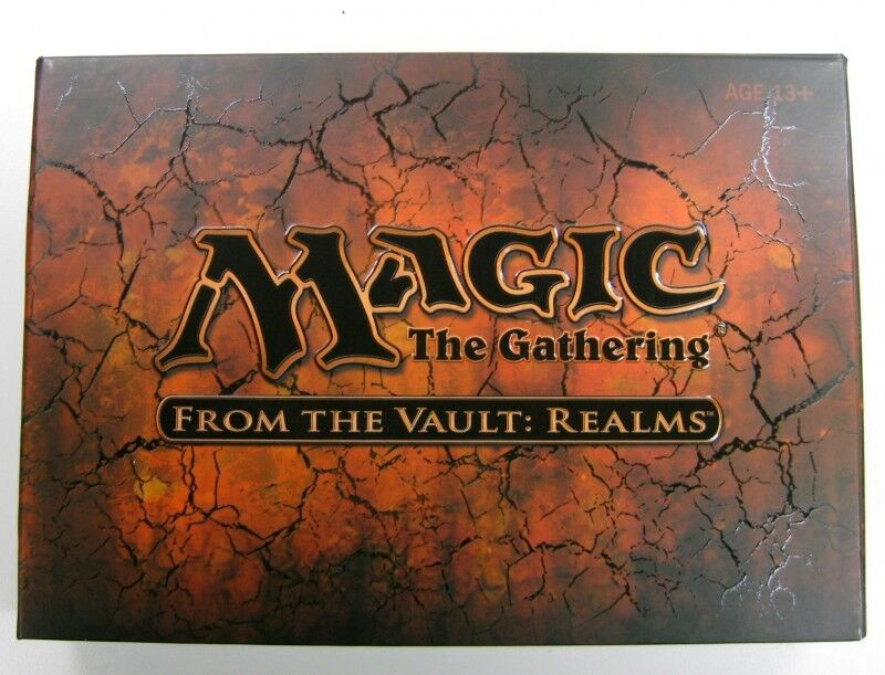 From the Vault Realms  Boxed  English Magic Mtg