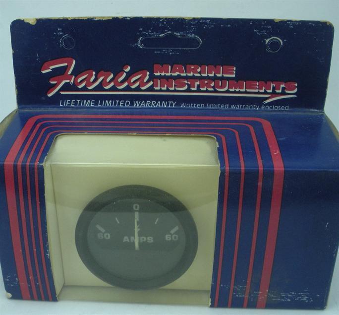 Faria AE60 Amperemeter Messgerät 2   Euro 19222
