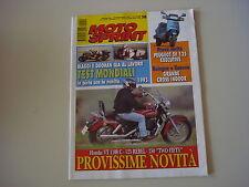 MOTOSPRINT 50/1994 HONDA VT 1100 C/PEUGEOT SV 125