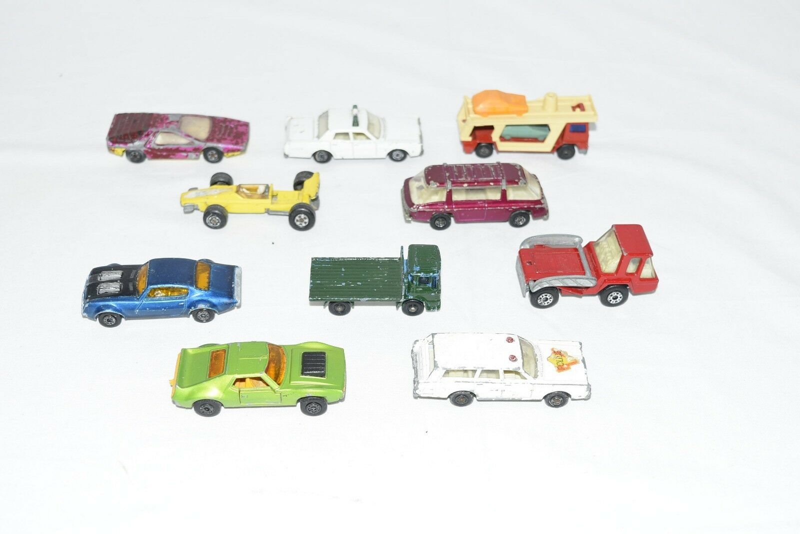 Original Lesney Matchbox Lot of 10.... For Condition - See Pictures (Lot L1)