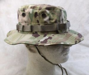 NEW GENUINE USGI US MILITARY ISSUE MULTICAM BOONIE HAT RIPSTOP - USA ... 9c5f67695e1