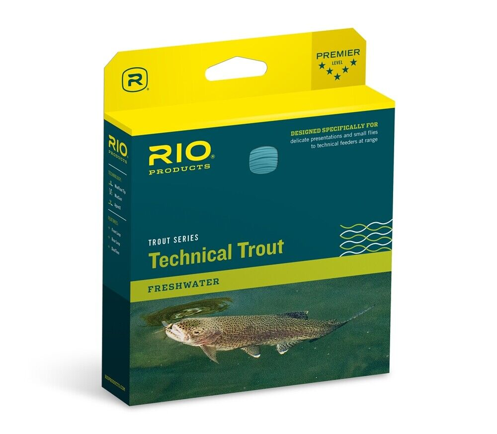 RIO Technical Trout Fly Line weight DT3