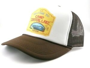 e780181fcab Camp Crystal lake hat trucker hat mesh hat new Friday the 13th movie ...