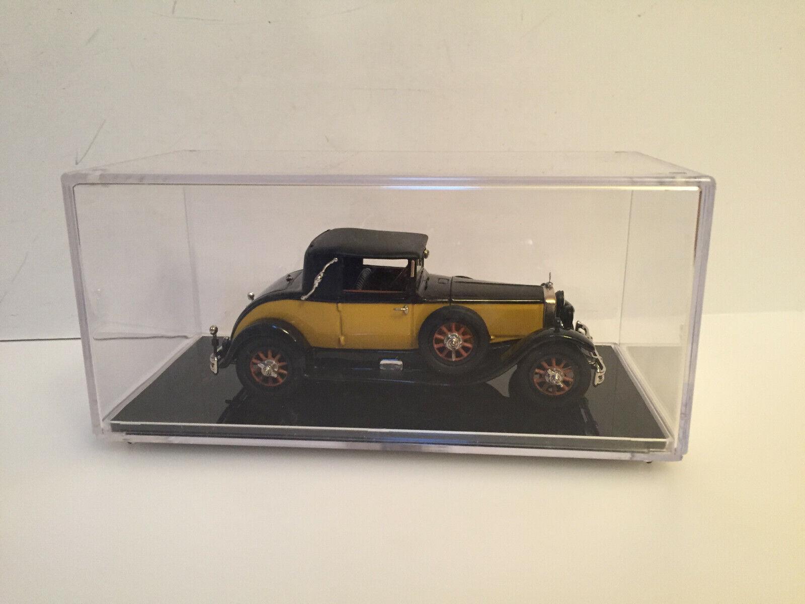 "1 43 1928 MERCEDES BENZ 460 Cabriolet A ""NURBURG   closed Handmade"