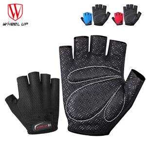 Cycling-Gel-Half-Finger-Gloves-Antiskid-Fingerless-MTB-Bike-Sports-Glove-Mitts