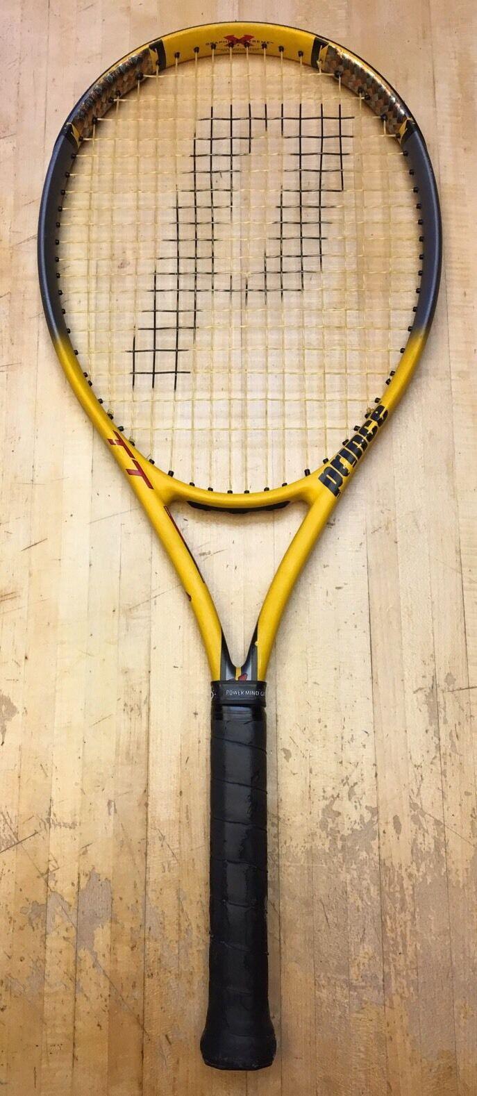 Prince TT Scream OS Triple Threat Tennis Racquet 4 3 8