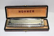 "Hohner The 64 Chromonica 4 octaves PROFESSIONAL MODEL ""C"" harmonica w/case NICE"