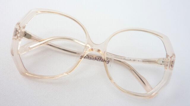 Model Glasses Ladies Frame Flair Light Beige Plastic Large Glass ...