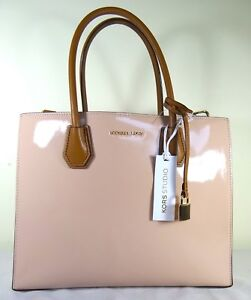 b0df93193eea Image is loading Michael-Michael-Kors-Mercer-Large-Convertible -Ballet-Patent-