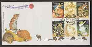 F296G-MALAYSIA-2002-STAMP-WEEK-THE-TAME-amp-THE-WILD-GUTTER-PAIR-FDC