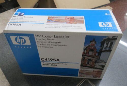 Genuine Brand New HP Laserjet 4500 4550 Imaging Drum Kit C4195A SEALED BOX