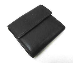 Portemonnaie-Wiener-Schachtel-Geldboerse-weiches-Nappa-Leder-schwarz-und-in-rot