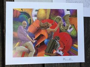 Marcus-Glenn-Love-That-Jazz-Signed-Seriolithograph-with-COA