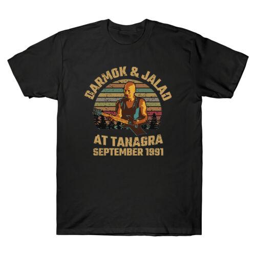Darmok /& jalad a Tanagra SETTEMBRE 1991 VINTAGE NERO MEN/'S cotton t-shirt