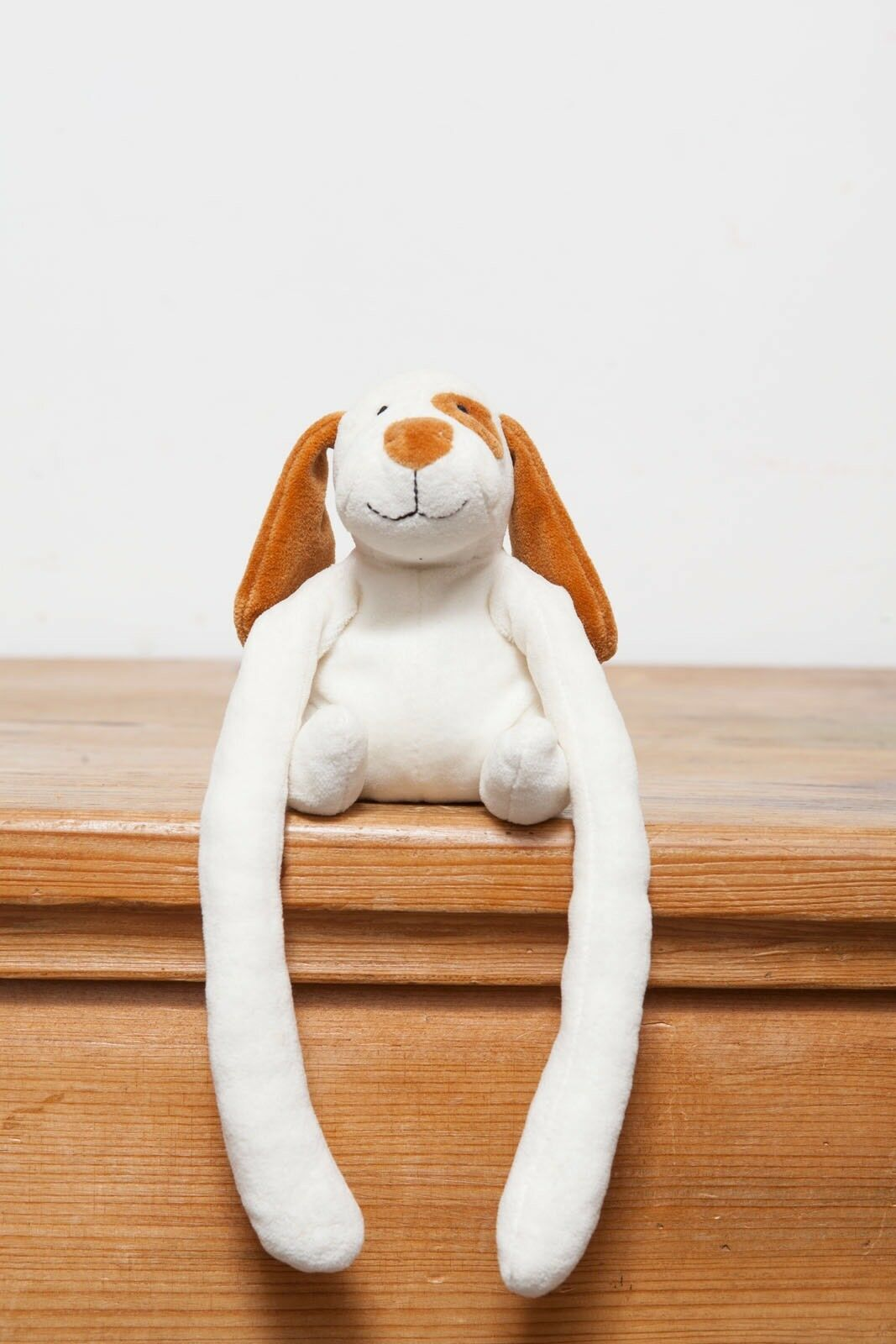 Jellycat 2's Company White And Ginger Dog