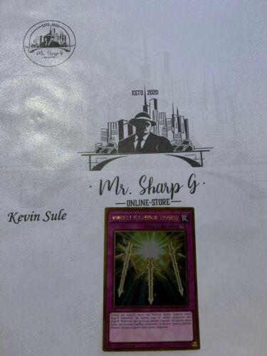 A MVP1-DEG31 DEUTSCH Yu Gi Oh SPIRITUELLE VERRÄTERISCHE SCHWERTER*1 CARD GW